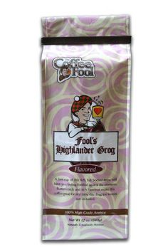 The Coffee Fool Drip Grind Coffee Fools Highlander Grog Strong 12 Ounce * Check out this great product.
