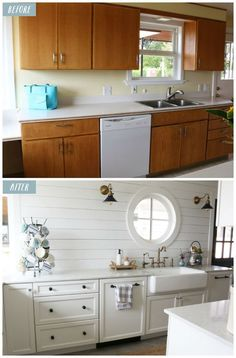 Before and After - Small Kitchen Remodel Reveal! - The Inspired Room