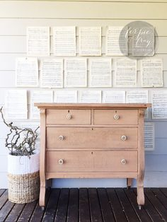 Dresser painted by Ferpie and Fray in a custom mix milk paint.