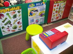 Grocery Store Fruit and Vegetable free printable flash cards: http://www.mrprintables.com/printable-vocabulary-flash-cards-fruit-vegetable.html Some more beautiful food flashcards: http://www.kitchencorners.com/2008/12/abc-of-food.html