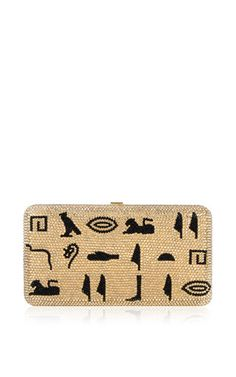 Judith leiber couture x harley viera-newton egyptian clutch by JUDITH LEIBER for Preorder on Moda Operandi