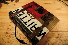 Large metal journal by Tracey Moore - his classes are awesome too!