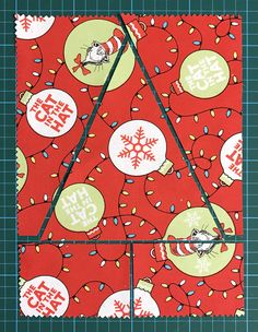 Quilting should be fun and we give you easy quilting projects, quick quilting how-to tutorials, and commentary to keep you smiling till the very last stitch. Christmas Tree Quilt Block, Christmas Patchwork, Christmas Sewing, Christmas Projects, House Quilt Patterns, Quilt Block Patterns, Quilt Blocks, Amy Smart, Flower Box Gift