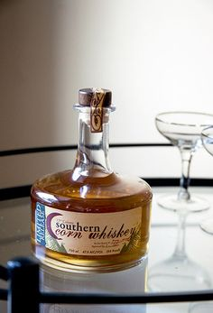 Southern Corn Whiskey from Americus, Georgia (and a recipe for a Southern Old-Fashioned)