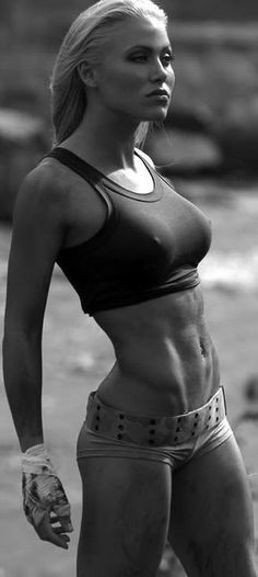 fit she is !