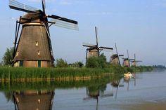 Molinos de viento de Holanda, Holanda