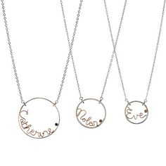I love personalized jewelry and I'm getting one of these for myself very soon... yay!