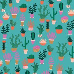 Impression de cactus