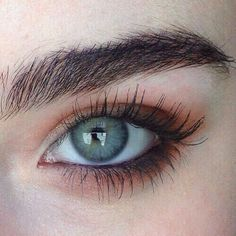 New Eye Painting Eyebrows Ideas Makeup Goals, Makeup Inspo, Makeup Inspiration, Makeup Style, Pretty Eyes, Beautiful Eyes, Simple Makeup, Natural Makeup, Beauty Make Up