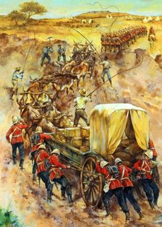 British troops in southern Africa, Zulu War. British Armed Forces, British Soldier, British Army, Military Art, Military History, British Uniforms, War Image, Ancient Mysteries, British Colonial