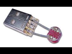 In this video, you see making a usb dark sensor circuit. It is a very easy and simple circuit. You can make this circuit at home easily To make this circuit,. Led Projects, Electrical Projects, Electrical Installation, Electronic Circuit Projects, Electronic Engineering, Hobby Electronics, Electronics Projects, Power Electronics, Electronics Components