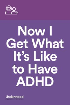 """""""I've always thought of myself as pretty good at putting myself in other people's shoes. But once I became a parent to a child with ADHD, I started to question that..."""""""