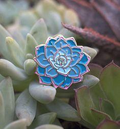 Succulent Enamel Pin $10