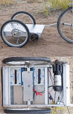 Greg's Electric Powered Bicycle Trailer: 4 Steps