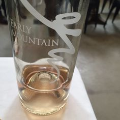We had two of Steve Case's Early Mountain wines, and the rosé was light and a little fizzy – really liked it. ($22, and reportedly Steve said he'll donate any profits from Early Mountain wine to furthering VA wine.)
