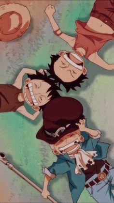 Ace sabo luffy wallpaper em 2021 | Personagens de anime, Wallpapers legais de anime, Anime