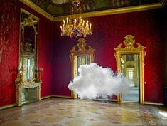 """""""Iwanted to see if it would be possible to exhibit a raincloud,"""" Berndnaut Smilde said. As a sculptor whose past work focused on malleable forms, it was the ultimate challenge. And,"""
