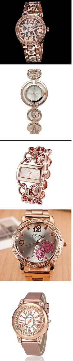 Rose gold is a perfect color for your spring jewelry and watches. Get the best rose gold watches for up to 74% off!