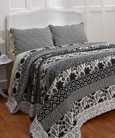 Claire Quilt Set by Bella Taylor #zulily #zulilyfinds