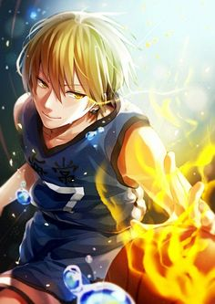...I just love looking at Kise's face. Makes me squeal with joy. -w-