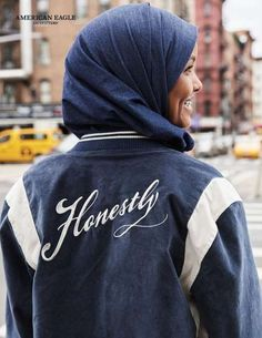 American Eagle's Newest Campaign Features the Model Halima Aden Halima Aden is a trailblazing young model who was the first woman in a hijab to appear on the cover of the major magazines Vogue and Allure, and American Eagle has now introduced a campaign starring the Muslim...