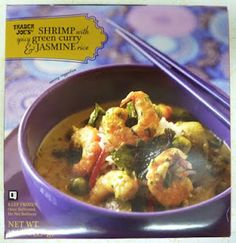 What's Good at Trader Joe's?: Trader Joe's Shrimp with Spicy Green Curry