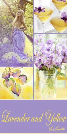 ☆Lavender and Yellow