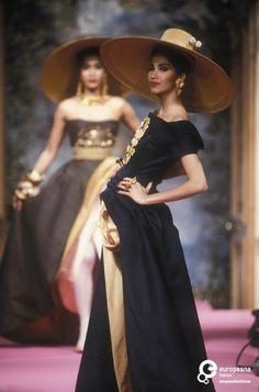 62 MISTRAL Christian Lacroix, Spring-Summer 1991, Couture   Christian Lacroix Christian Lacroix, Spring-Summer 1991, Couture   Christian Lacroix