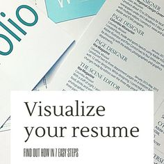enhance your resume with these creative tips determine which one
