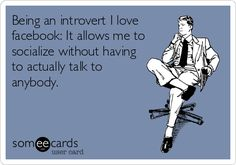 One great result of the current introvert revolution is that the awareness about introverts has increased exponentially. Introvert Meme, Introvert Problems, Istj Personality, Intj And Infj, Isfj, Infj Mbti, Social Anxiety, E Cards, Story Of My Life