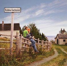 Gaelic Sign at Highland Village / An Clachan Gàidhealach Highland Village, Cape Breton, My Roots, Canada Travel, Nova Scotia, Vancouver, Sign, Memories, Island