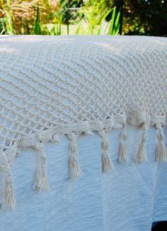 Pie de Cama Red - Comprar en Nikanora Love Crochet, Crochet Hooks, Crochet Blanket Patterns, Crotchet, Bed Covers, Bed Spreads, Crochet Projects, Diy And Crafts, Creations