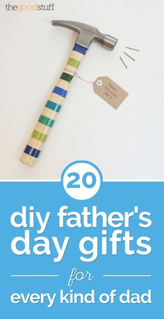 20 DIY Father's Day Gifts for Every Kind of Dad - thegoodstuff