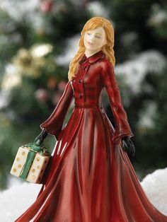 Christmas Time - 2013 Petite Figure - Royal Doulton .   Waterford Wedgwood Royal Doulton, San Marcos, TX  1-800-203-4540