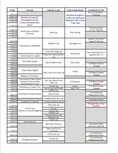 Image detail for -Relay For Life of Sherwood 2011 Events Schedule | Around Sherwood