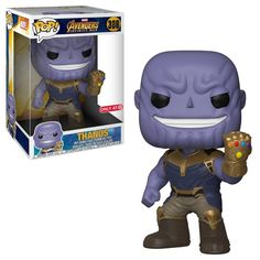 b97735d696a Thanos from Avengers  Infinity War is now featured as a 10 Pop! vinyl.