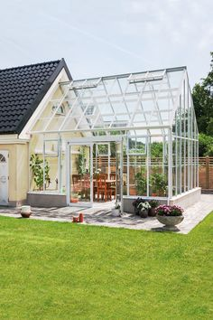 """Exceptional """"greenhouse plans"""" detail is available on our website. Check it out and you wont be sorry you did. Greenhouse Interiors, Backyard Greenhouse, Small Greenhouse, Greenhouse Wedding, Greenhouse Plans, Pallet Greenhouse, Portable Greenhouse, Outdoor Spaces, Outdoor Living"""