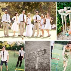 My sister has a vision for a wedding pic like this and she said she wanted to buy a croquet set to create vision. I said sure. It would look nice to set it up at the Fischer Mansion but we might just do it in the front yard and then guests can play too if they would like-Danielle