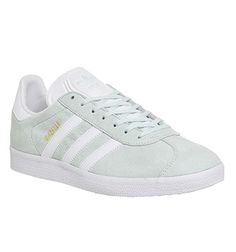 Adidas Gazelle Ice Mint White - His trainers