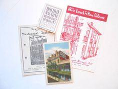 Vintage New Orleans Souvenir Booklets by lizandjaybooksnmore