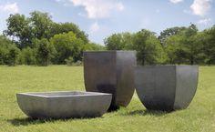 Shop Modern Pre Cast Concrete Planter Products on Houzz