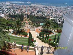 Bahai, Haifa. ISRAEL.