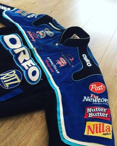 Found my old jacket. It's an official Dale Earnhardt Jr NASCAR jacket. Bought it in San Fransisco in '03. Oreo's were always my favorite cookies and back then you couldn't buy them anywhere else besides at America Today and in the US.  I remember wearing the jacket and buying Oreo's in bulk at America today. At the register the guy working there asked if I was with the Oreo's promo team. :) Since I threw out my 20 years old sweatpants last week this is now my oldest piece of clothing.  #Oreo…