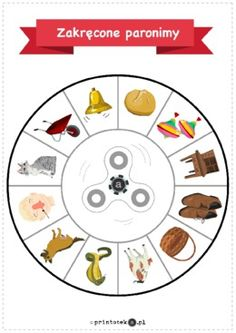 Zakręcone paronimy - Printoteka.pl Games For Kids, Activities For Kids, Printable Numbers, Education Humor, Funny, Diy, Literacy Games, Cute Ideas, Diy And Crafts