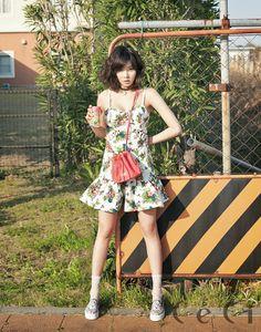 Hyuna 4minute Ceci Magazine May Issue 2014