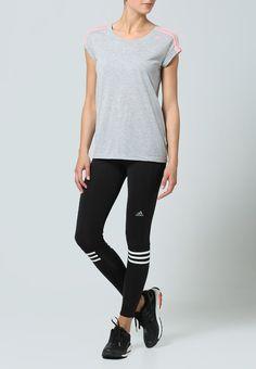 Bestill adidas Performance RESPONSE - Tights - black/white for kr 449,00 (02.04.16) med gratis frakt på Zalando.no