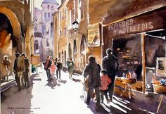 Jean Guy Dagneau   WATERCOLOR