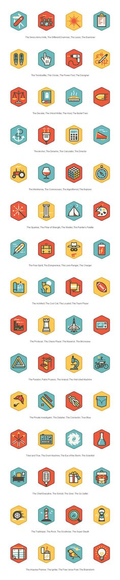 TidePool #icons #illustration #pictograms