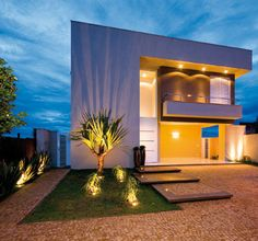 pedra ferro fachada - Pesquisa Google Dream Home Design, My Dream Home, Modern Exterior, Interior And Exterior, Beautiful Buildings, Beautiful Homes, Residential Architecture, Architecture Design, Cabin Design