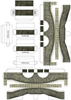 Cut out stone Bridge 01